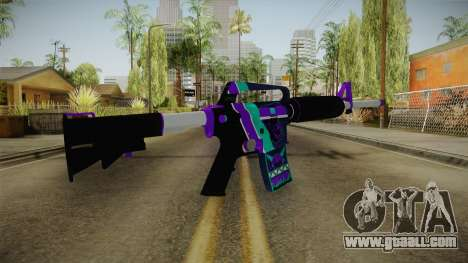 CS:GO - M4A1-S Lince No Silencer for GTA San Andreas second screenshot