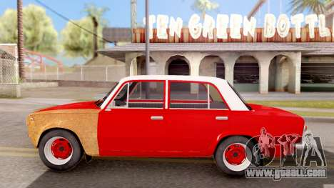 VAZ 2101 of Opendos GVR V5 for GTA San Andreas left view