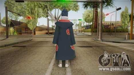 NUNS4 - Sasuke Akatsuki Mangekyou Sharingan for GTA San Andreas third screenshot