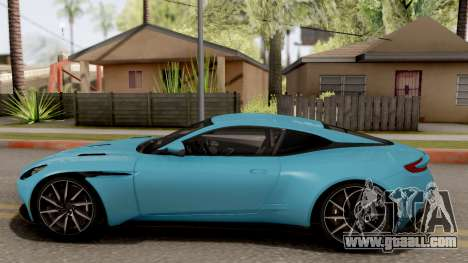 Aston Martin DB11 2017 for GTA San Andreas left view