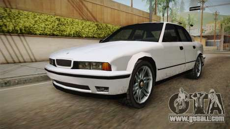 Midnight Club 2 - Schneller V8 IVF for GTA San Andreas right view