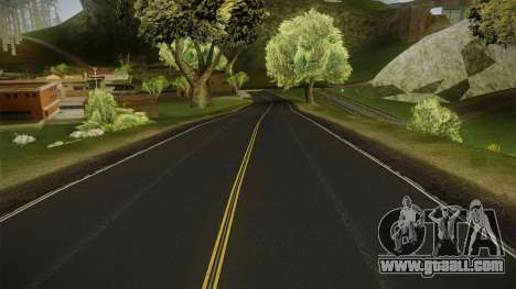 8K Country Road Textures for GTA San Andreas forth screenshot