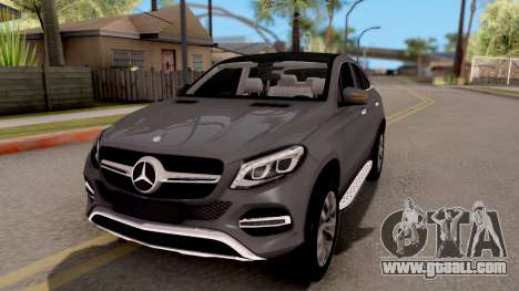 Mercedes-Benz GLE 350d for GTA San Andreas