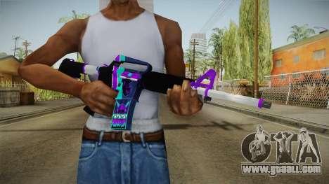 CS:GO - M4A1-S Lince No Silencer for GTA San Andreas third screenshot