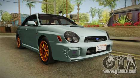 Subaru Impreza WRX Tunable for GTA San Andreas right view