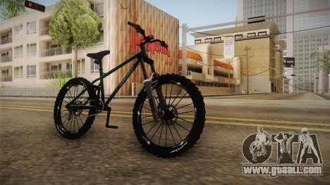 GTA 5 Scorcher for GTA San Andreas right view
