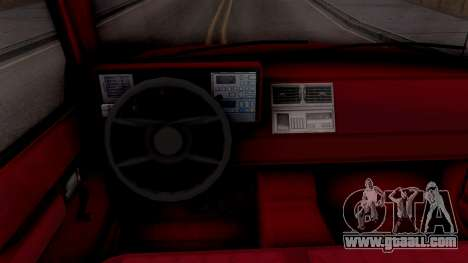 Chevrolet 454 SS C1500 1990 for GTA San Andreas inner view