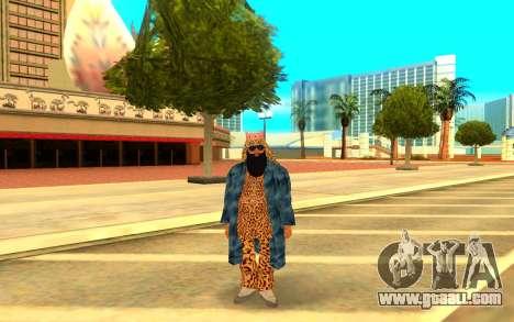 Big Russian Boss for GTA San Andreas