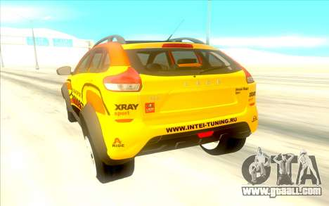 LADA X-Ray Rally for GTA San Andreas right view