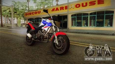 Honda CB150R StreetFire for GTA San Andreas