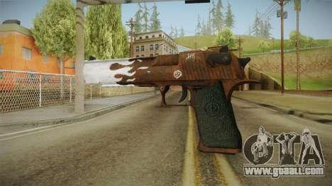 CS:GO - Desert Eagle Corroden for GTA San Andreas second screenshot