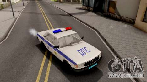 GAZ-31029 DPS Police for GTA San Andreas right view