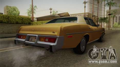 Plymouth Fury Salon (RL41) 1978 HQLM for GTA San Andreas right view