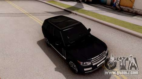 Range Rover SVA for GTA San Andreas right view