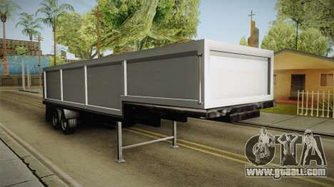 Volvo FH16 660 8x4 Convoy Heavy Weight Trailer 2 for GTA San Andreas right view