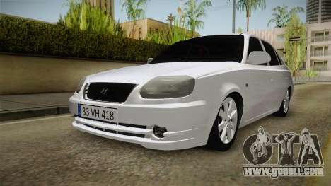 Hyundai Accent GLE for GTA San Andreas right view