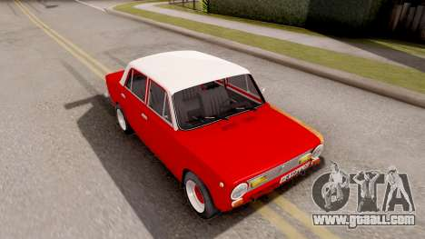 VAZ 2101 of Opendos GVR V5 for GTA San Andreas right view