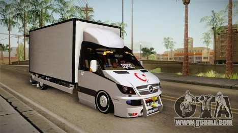 Mercedes-Benz Sprinter v3 for GTA San Andreas right view