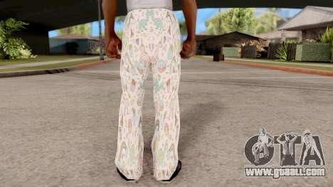 Pants pajama for GTA San Andreas third screenshot