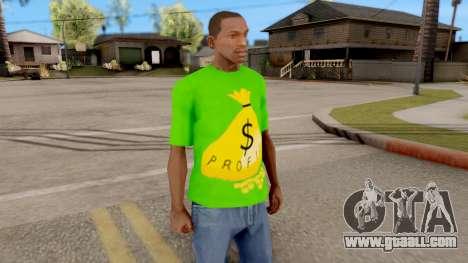 T-Shirt Money for GTA San Andreas second screenshot