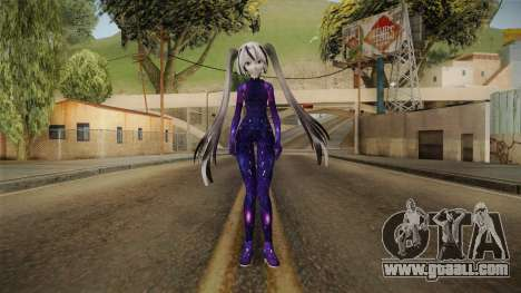 Galaxy Miku for GTA San Andreas second screenshot