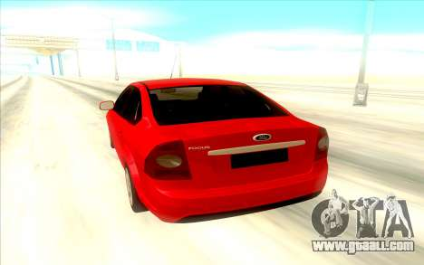 Ford Focus 2 Sedan for GTA San Andreas