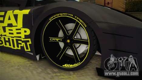 Lamborghini Gallardo Philippines for GTA San Andreas back view