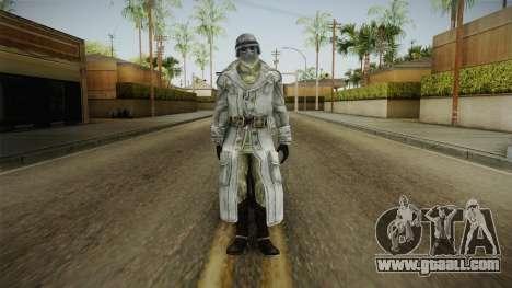Fallout 3 - Winter General for GTA San Andreas second screenshot