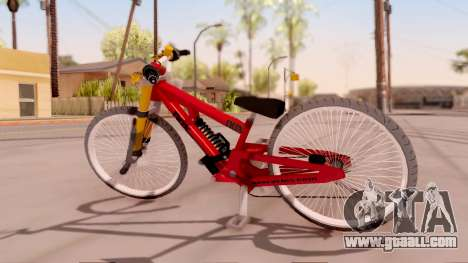 NOX Cycles Mountainbike for GTA San Andreas left view