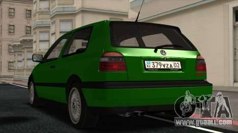 Volkswagen Golf Mk3 1997 for GTA San Andreas right view