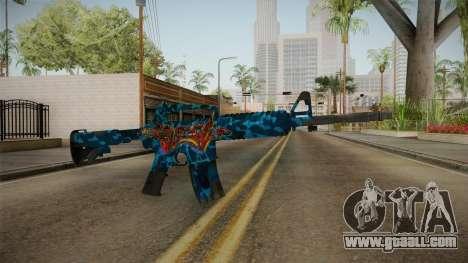 CS:GO - M4A1-S Masterpiece No Silencer for GTA San Andreas