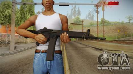 HK-33 Assault Rifle for GTA San Andreas third screenshot