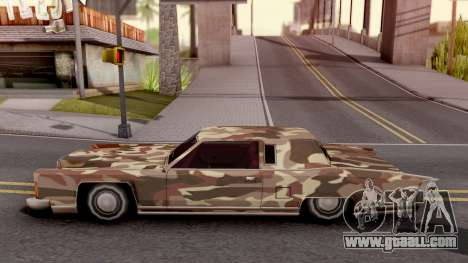 New Paintjob for Remington v2 for GTA San Andreas left view