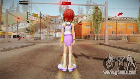 Kingdom Hearts Final Mix - Kairi for GTA San Andreas third screenshot