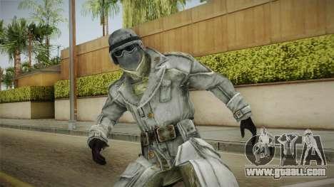 Fallout 3 - Winter General for GTA San Andreas