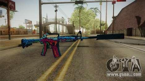 CS:GO - M4A1-S Hyper Beast for GTA San Andreas second screenshot