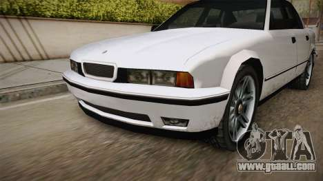 Midnight Club 2 - Schneller V8 IVF for GTA San Andreas inner view