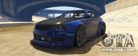 Ubermacht Sentinel Custom for GTA 5