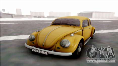 Volkswagen Juke for GTA San Andreas back view