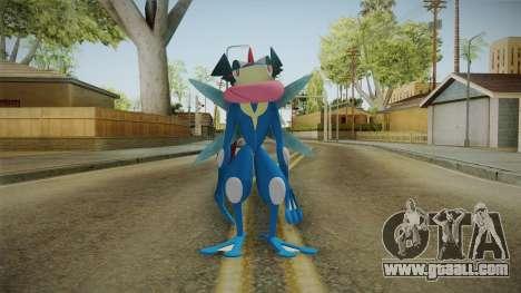 Pokémon XYZ Series - Ash-Greninja for GTA San Andreas second screenshot