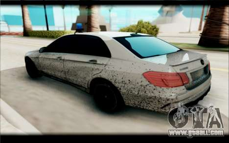 Mercedes-Benz E63 V2 for GTA San Andreas back left view