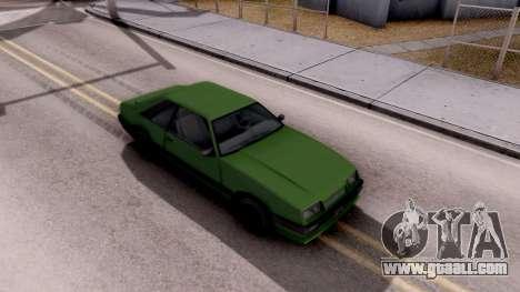 GTA IV Uranus for GTA San Andreas right view