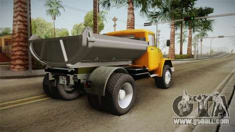 ZIL-130 AMUR for GTA San Andreas back left view