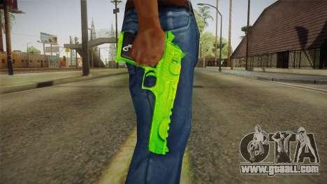 Green Weapon 1 for GTA San Andreas third screenshot