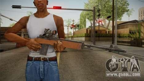 M14 Sniper Rifle for GTA San Andreas third screenshot