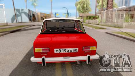VAZ 2101 of Opendos GVR V5 for GTA San Andreas back left view