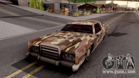 New Paintjob for Remington v2 for GTA San Andreas