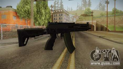 AK-12 BlackGreen for GTA San Andreas second screenshot
