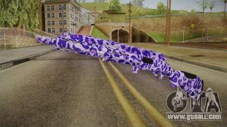 Tiger Violet Shotgun 1 for GTA San Andreas
