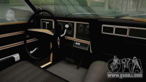 Plymouth Fury Salon (RL41) 1978 HQLM for GTA San Andreas side view